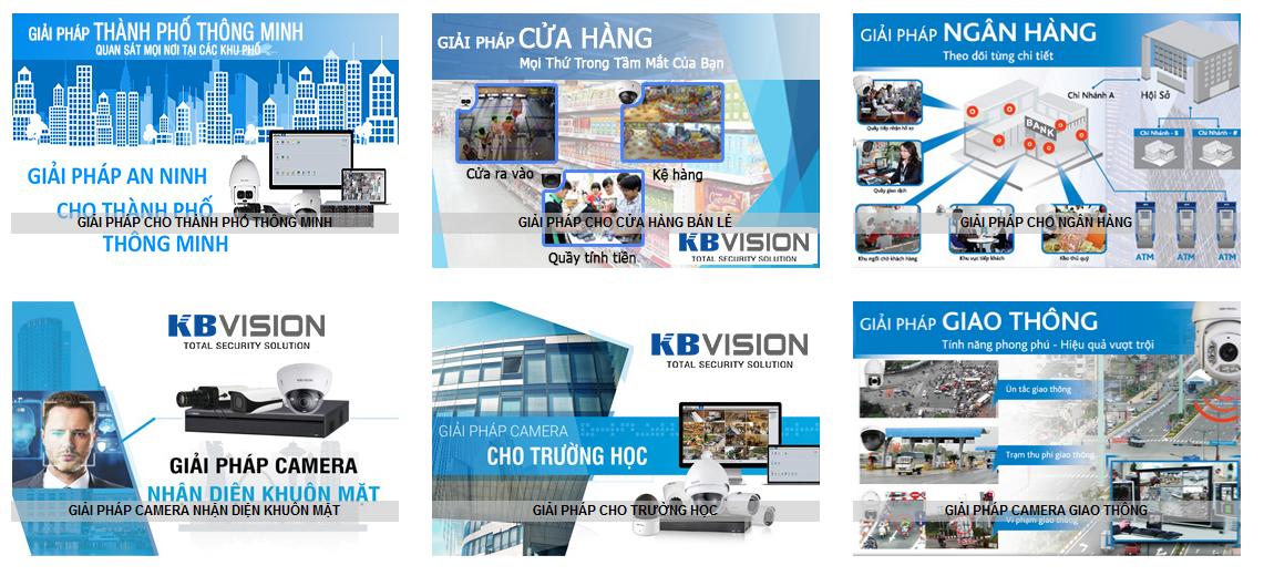 Bộ giải pháp giám sát an ninh của camera KBVision